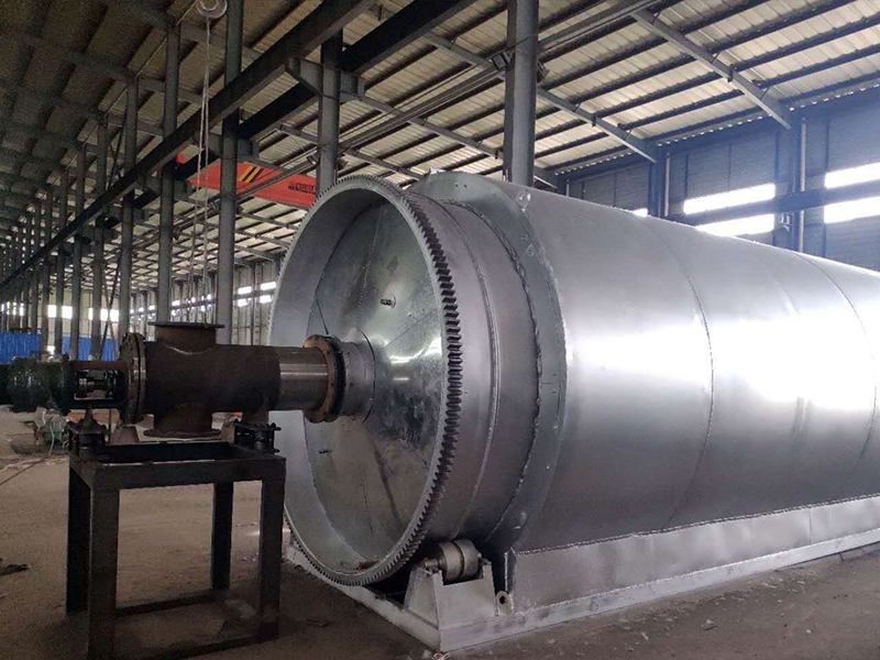 武汉环保废轮胎炼油设备