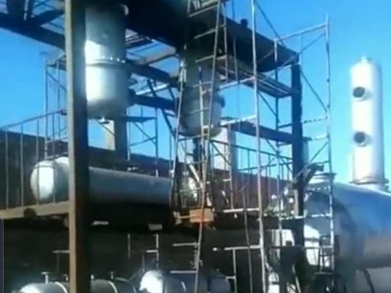 越南废机油提炼柴油生产现场