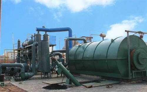 在设备当中废机油和废塑料在进行运行的过程中轴承会出现的问题