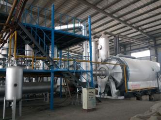 轮胎炼油设备厂家设备的运行流程和其产出的废物解决方法
