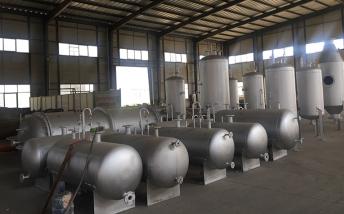 目前炼油设备可实现产业准入条件符合标准
