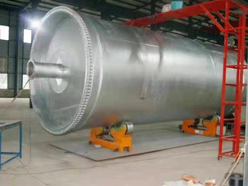 废轮胎炼油设备厂家合作案例