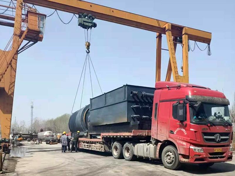 废轮胎炼油设备发往泰国