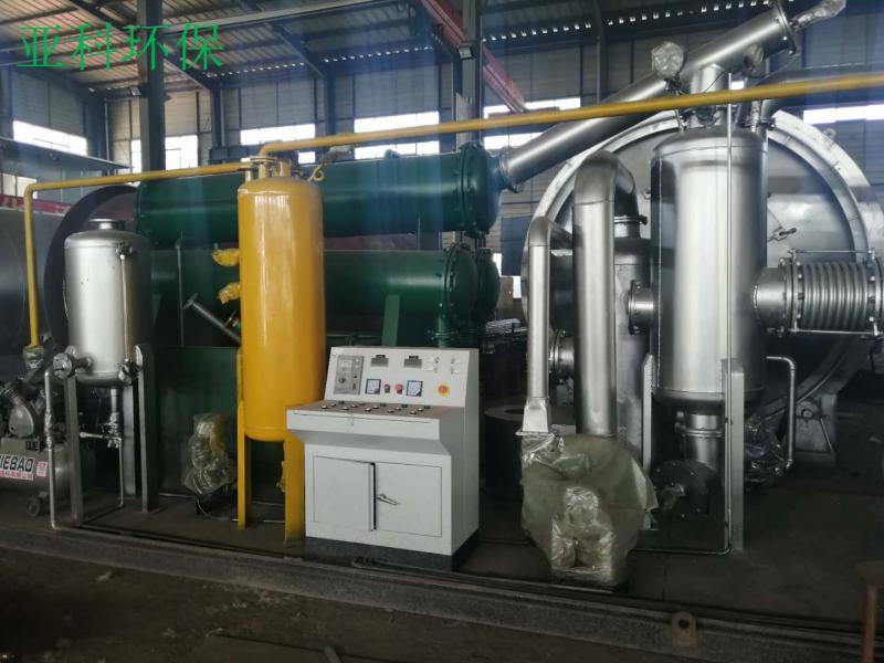 小型撬装式废塑料炼油设备