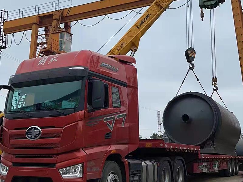 专业废轮胎炼油设备发货陕西